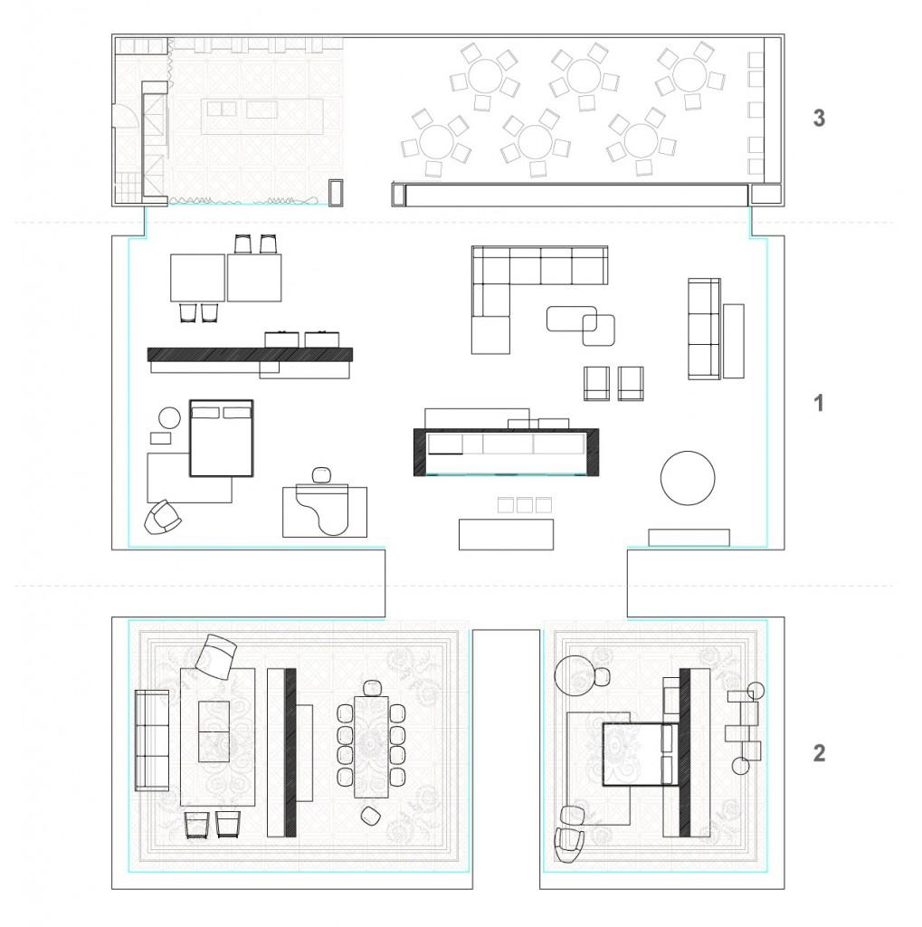 pianca pianta stand salone mobile milano 2012