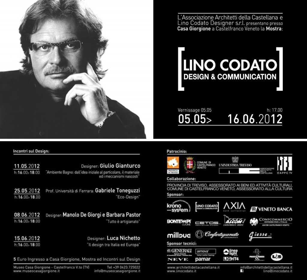 invito mostra lino codato design&communication