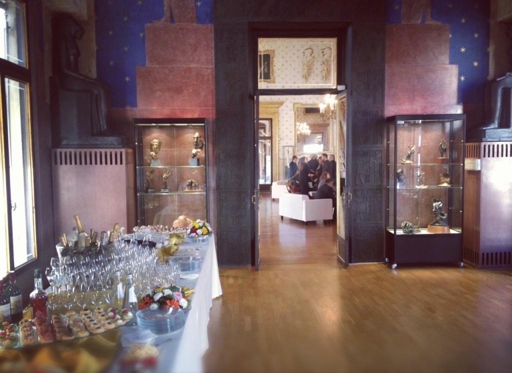 rcs sette pedrocchi buffet sala egizia